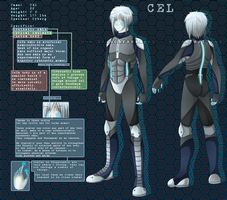 Cel Character Sheet by MonochromeAgent