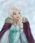 FROZEN- Elsa by SakiaLumei
