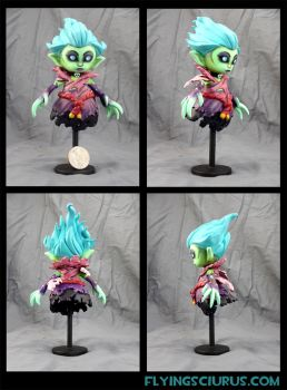Death Prophet Custom figure (100% charity auction) by FlyingSciurus