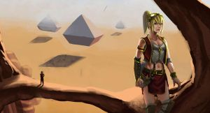 The Shurima Desert by danielcherng