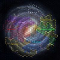 Galaxy map factions by Darkrelams1