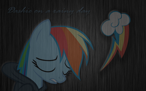 Dashie On A Rainy Day by hopeabandoner