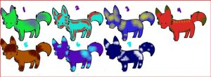 reopen adopts! 5 open! by Whalen504