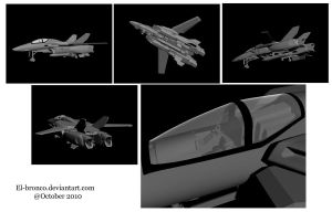VF-1 WIP by El-Bronco
