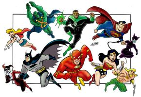 JLA by The-BenShaw