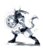 Lucario updated by Namh