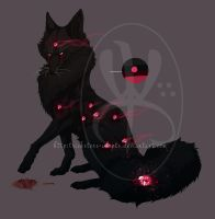 Adopt Auction: Vampire Fox {closed} by Tricksters-Adopts