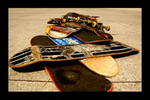 Skateboards Of Life by PasuraBunnag