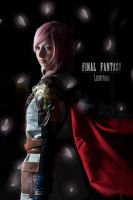 Lightning cosplay ! by CosmicNya