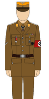 Decorated Officer of the Third Reich by bar27262