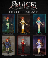 Alice Outfit Meme: Holly by The-Silent-Angel