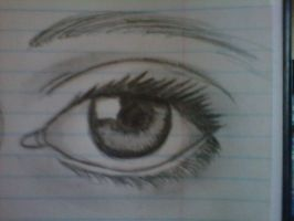 realistic eye by mizzbabygurl