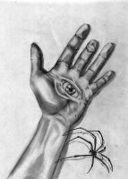 Hand and Eye by qamil18