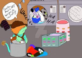 The Adventures of Boober and Gonzo: Laundry Day by WillardStilles