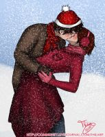 hp - christmas card het by thiliart