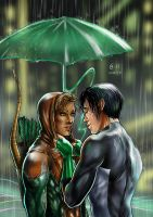 Kyle x Connor - rain by Autumn-Sacura