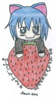 Strawberry Ikuto-colored- by Amuto-4eva