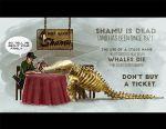 Dine with Shamu by derangedhyena
