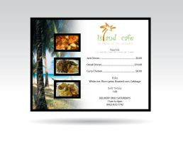 Island Cafe Menu by Rio3104