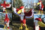 Crimson Loftwing Cosplay+video by ZulayaWolf
