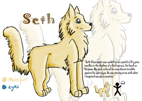 .Seth Clearwater.OLD by Grrote