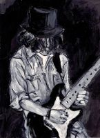 Tribute to blues by Wichrzyciel