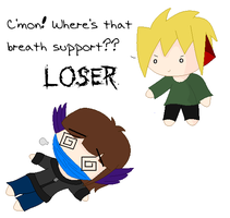 LOSER by KimiGryphon