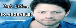 Misha Collins Adorable - Sig by Gabriel-loki