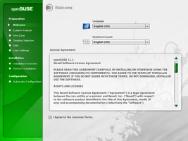 openSUSE 11.1 DVD installer by Falco101