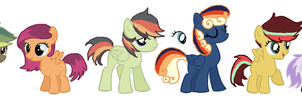 Pegasus Pony Adopts -open- by lizzielove2407