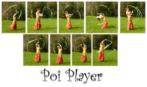 Poi Player by syccas-stock