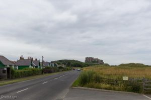 Leaving Bamburgh Castle by CyclicalCore