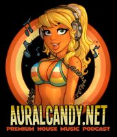 AuralCandy.net T-Shirt by blitzcadet