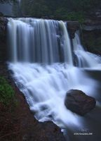 Blackwater Falls Vertical II by TRBPhotographyLLC
