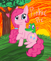 Pinkie Poof by Tellyporter231