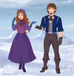 Disney's Snow Queen (Hedvig and Nicolaus) by Hillygon