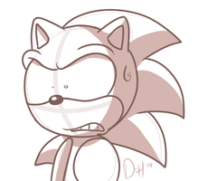 What Is Sonic Reacting To by Domestic-hedgehog