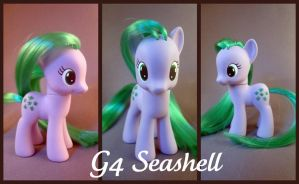G4 Seashell custom pony by hannaliten