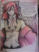 kuroshitsuji project: grell sutcliff by sleet-the-wolf