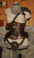 Furiosa Mad Max Furry road cosplay outfit  WIP by Lagueuse