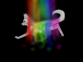 The rainbow walker. by ScreamingFox