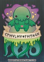 Cthulhu Fhtagn! by pai-thagoras