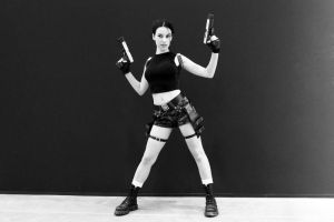 Lara Croft AOD1 - Igromir'12 by TanyaCroft
