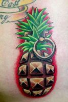 pine apple grenade by joshwoods