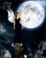 Moon Angel by jlneveloff