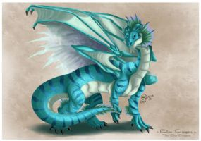Blue Dragon by K-vin