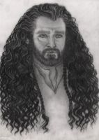 Thorin son of Thrain son of Thror by Marin1233