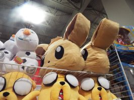 ( Pokemon ) Adorable Eevee Pillows at MCCC by KrazyKari