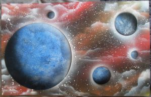 Space Painting 2 by Kelden17