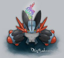 Mega Swampert by delgalessio